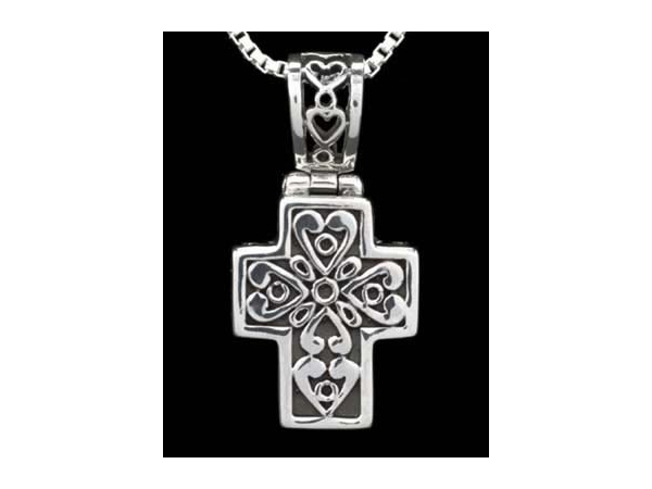 Sterling Silver Filigree Cross